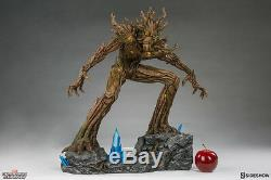Guardians Of The Galaxy 22 Inch Statue Figure Premium Format Groot Sideshow