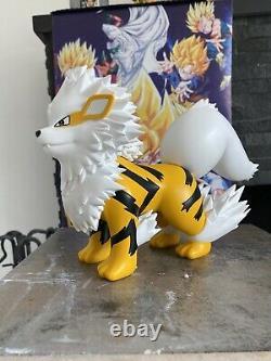 HUGE & HEAVY Realistic SHINY Arcanine RESIN Statue Figure Model Rare Pokemon