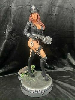 Hollywood Collectibles Group Heavy Metal 2000 Cyber Cop Statue Figure Ex