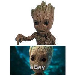 Hot Guardians of the Galaxy Vol. 2 Push Bomb Button Baby Groot Figure Statue Toy