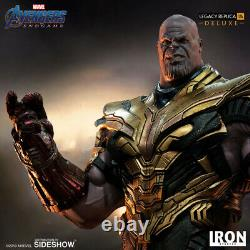 IRON STUDIOS Endgame Thanos Deluxe Legacy Replica Statue Figure NEW SEALED