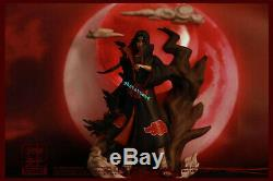 In stock Naruto Figures SHENWU studio Uchiha Itachi resin statue LED