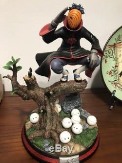 In-stock Naruto HMB Tobi Resin Statue 1/8 Figure Not Tsume 30cm Height