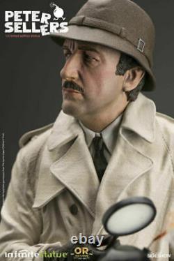 Infinite Statue 905615 1/6 Comic Actor Peter Sellers12 Male Action Figure Statu