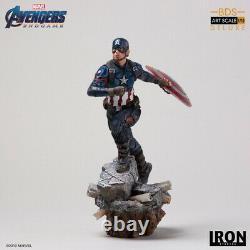 Iron Studios 110 Captain America Deluxe Avengers Endgame Figure Statue Toys