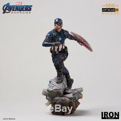 Iron Studios 1/10 Captain America Statue AvengersEndgame Figure Collection Toys