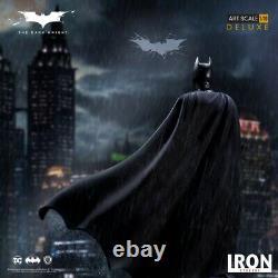 Iron Studios 1/10 DCCTDK27320-10 Batman The Dark Knight Polystone Figure Statue