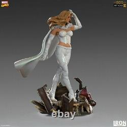 Iron Studios 1/10 Emma Frost Statue MARCAS30720-10 White Queen Figure Model Toys