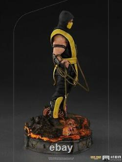 Iron Studios 1/10 Scorpion Figure MORTAL42721-10 Mortal Kombat Statue Collection