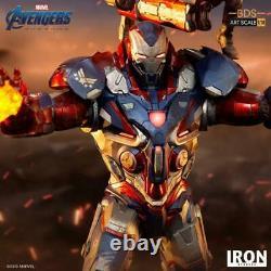 Iron Studios 1/10 War Machine Rocket Raccoon Statue Avengers Figure Model Toys