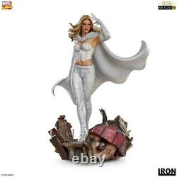 Iron Studios 1/10 White Queen Statue MARCAS30720-10 Emma Frost Figure Collection
