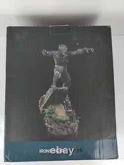 Iron Studios Black Panther Battle Diorama 110 Scale Statue Figure Movie