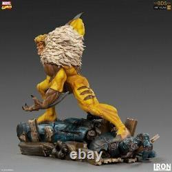 Iron Studios MARCAS23419-10 1/10 Sabretooth Figure Statue Model Toys Gift