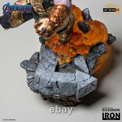 Iron Studios THANOS Avengers Endgame 1/10 Statue Figure Deluxe Version NEW