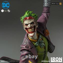 Iron Studios The Joker Batman 1/3 Prime Scale Statue Figure DC Comics Ivan Reis