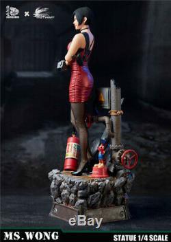 JORSING x Hot Heart 0714EX Ms. Wong Female Agent Statue Figure 1/4 Scale Model