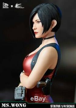 JORSING x Hot Heart 1/4 Ms. Wong Ada Wong Agent Girl Statue Figure Normal Version