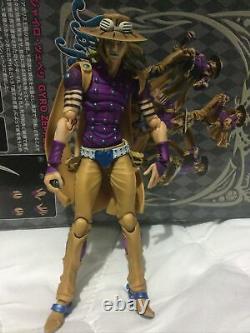JoJo's Bizarre Adventure Gyro Zeppeli Medicos SBR Figure Super Action Statue