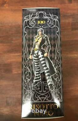 JoJo's Bizarre Adventure Super Action Statue Risotto Nero Figure Online Limited