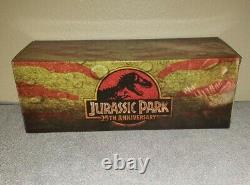 Jurassic Park Chronicle Collectibles Trex Statue T rex 25th anniversary figure