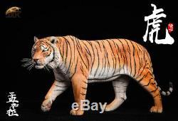 JxK JXK012A 1/6 Yellow Bengal Tiger Animal Figure Resion Statue Toy Gift