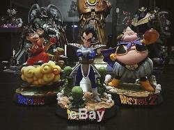 KM Studios Limited Dragonball Z Vegeta Saibamen Original Gk Resin Figure Statue
