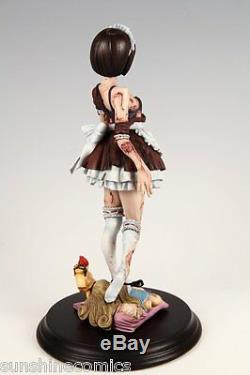 Kaitendoh Horror Figure Series Zombie Girl Statue NEW SEALED