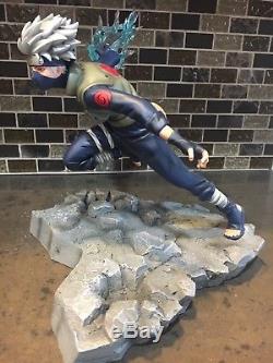 Kakashi Vs Zabuza Statue VKH Resin Naruto Figure Rare