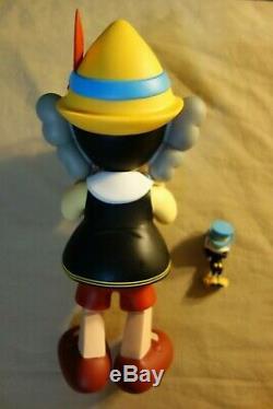 Kaws Medicom Toy Disney Pinocchio & Jiminy Cricket Figures, 2010