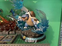 King Finger Studios Mega Blastoise Resin Statue Pokemon Figure
