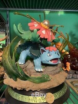 King Finger Studios Mega Venusaur Resin Statue Pokemon Figure
