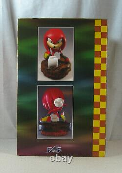 Knuckles Classic Sonic the Hedgehog Statue 368/1500 First 4 Figures BRAND NEW