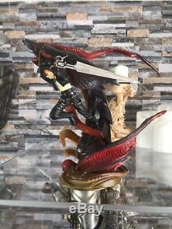 Kotobukiya Final Fantasy Vlll 8 Squall Leonhart & Bahamut Resin Statue Figure