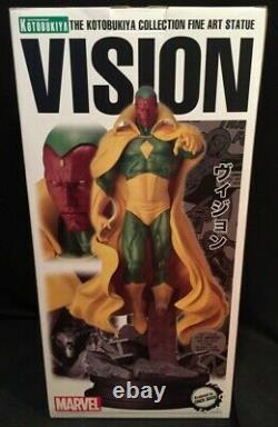 Kotobukiya Fine art Statue Vision 1/6 Scale Statue DC Universe Eric Sosa