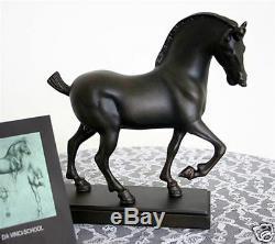 LEONARDO DA VINCI Horse Animal Equestrian Statue Figure Figurine Sculpture Art