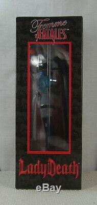 Lady Death II Femme Fatales Figure Statue Diamond Select NEW SEALED