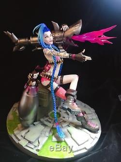 League of Legends Jinx R36 Limited 200 Resin GK Statue The Loose Cannon Figure