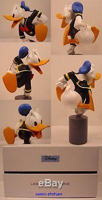 Leblon Delienne Disney Donald Duck Excite Wütend Resin Statue Figur Neu & Ovp