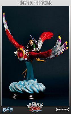 Legend of Zelda Link on Loftwing Statue First 4 Figures Nintendo Skyword Sword