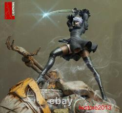 Lighting Studio 14 NieRAutomata YoRHa 2B Girl Female Figure Statue Toy Presale