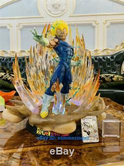 MAJIN Vegeta 1/4 Scale Led Statue Resin Figure Custom-made In Stock Dragon Ball