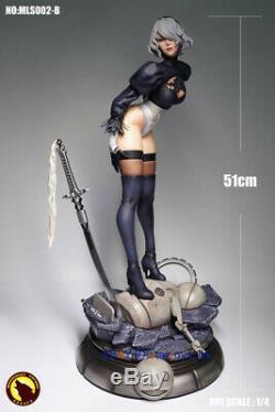 MOONLIGHT STUDIO 1/4 Resin Statue NieRAutomata 2B Figure 51cm Limited Collect