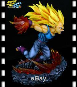 MRC & Legend Dragon Ball Z Vegeta Super Saiyan 3 Resin Statue Figure Gogeta Goku