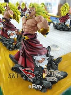 MRC & Sky Wild SSJ3 Broly Broli Warcry Dragon Ball Z GK Resin Statue Figure COA