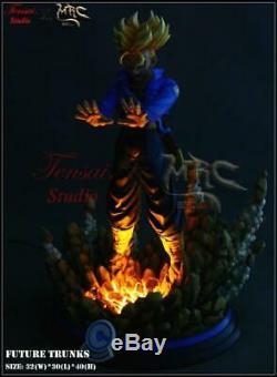 MRC Super Saiyan Trunks Resin Statue Tensai Figure Vkh Xceed FC UCS Vegeta SSJ