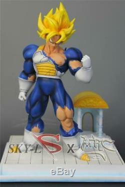 MRC Time Chamber Super Saiyan Son Goku Resin Statue Figure 3 Vegeta Gohan UI FC