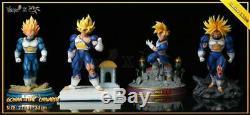 MRC & Yume Gohan Time Chamber Temple GK Resin Statue Figure DBZ DragonBall Z COA