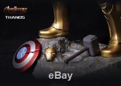 Marvel Avengers Infinity War 3 Thanos Statue Resin 14'' Figure New