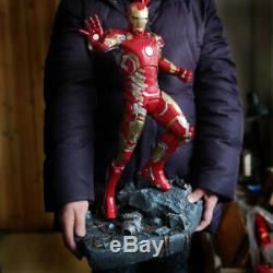 Marvel Avengers Iron Man MK43 1/4 Resin Statue 50CM Figure Birthday Endgame
