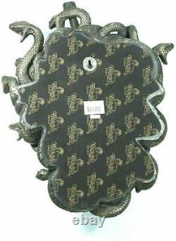 Medusa Mask Gorgon Serpent Monster Medousa Snake Lady Cold Cast Bronze Resin